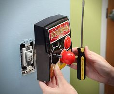 Retro Arcade Game Light Switch