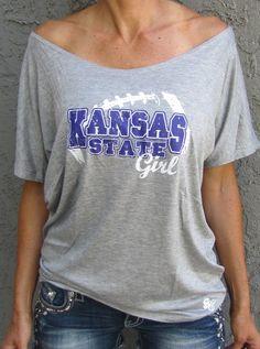 Kansas State Girl   Sideline Chic