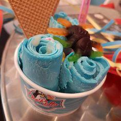 BubbleGum IceRolls #icerollsfactory #icerolls #icecreamrolls #dresden #dresdengram