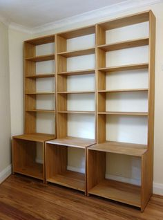 Plywood Bookcase This bookcase is made from 3 4 plywood Could run into thousands of dollars But sawn lumber is expensive enough oak for a 8 foot bookcase Why