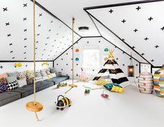 20 quartos de brinquedos para as crianças se divertirem - limaonagua