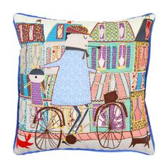 Some neat items at Zara Home Kids USA.  Please God, don't let JLB ever see the cross-stitched kitty and puppy items.  They will be all over our home.  Kids Levi Pillow