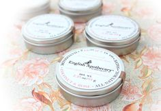 Coconut Rose Salve - with Argan Oils and Rose Absolute by Erin. $18.00, via Etsy.