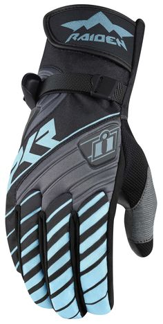 Tackling an off-road adventure requires some serious gear. The Icon Raiden DKR Women's Gloves are designed to weather any storm, climb any mountain and take ...