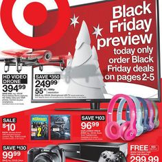 View the Target Black Friday 2015 Ad with Target deals and sales