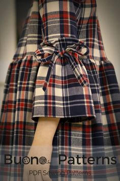 Your place to buy and sell all things handmade Stylish Dresses For Girls, Little Girl Dresses, Vintage Girls Dresses, Kids Dress Patterns, Pattern Dress, Kids Fashion, Fashion Outfits, Fall Fashion, Style Fashion