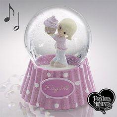 Precious Moments® Birthday Personalized Water Globe - #12509