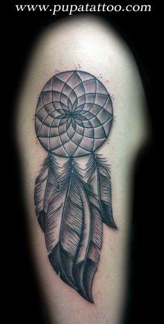 Tatuaje atrapasueños Pupa Tattoo Granada
