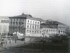 ▶ Fotogalerie: DENISOVO NÁDRAŽÍ. Budova nádraží na Těšnově byla postavena v roce 1875, o 110... Louvre, Building, Travel, Historia, Viajes, Buildings, Destinations, Traveling, Trips