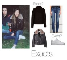 """""""eleanorj92 (updated)"""" by thetrendpear-eleanor ❤ liked on Polyvore featuring Acne Studios, NIKE, Boutique and rag & bone"""
