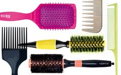 Tipos de escovas e pentes para deixar seu cabelo incrível!