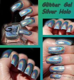Glitter Gal-Turbulence (Silver Holo)