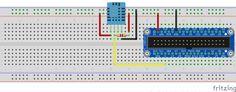 Raspberry Pi идатчики влажности DHT