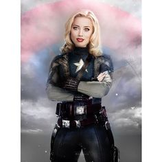 The Avengers Genderswapped in Photoshop with Different Actors ❤ liked on Polyvore featuring pictures