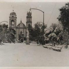 Nevada del 9 de enero de 1967 en #Cadereyta Nuevo Leon . #Monterrey
