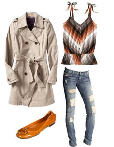 casual chic fall look...
