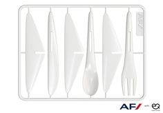 Air France's cutlery can transform into a toy plane