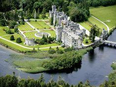 Look inside Ireland's Ashford Castle, a stronghold turned majestic hotel Ashford Castle Hotel, Castle Hotels In Ireland, Hotels And Resorts, Best Hotels, County Mayo Ireland, Driving In Ireland, Stay In A Castle, Ireland Travel, Cork Ireland