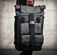 The Mission Workshop Arkiv® Field Packs allow for the secure and simple attachment of weatherproof accessories to the exterior of the backpack. Mission Workshop, Fashion Bags, Mens Fashion, Casual Bags, Luggage Bags, Backpack Bags, Travel Bags, Just In Case, Leather Bag