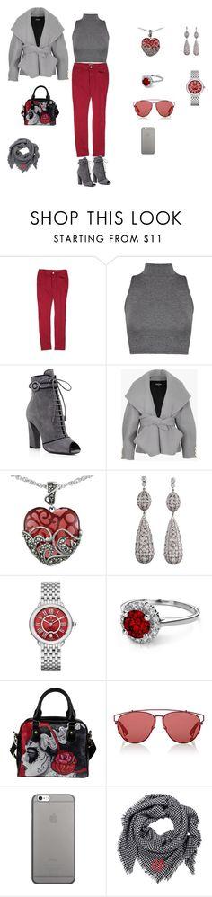 #СтильнаяОсеньвШколеШопинга by bez-svet on Polyvore featuring мода, WearAll, Balmain, Romeo + Juliet Couture, Prada, Lord & Taylor, Michele, Christian Dior and Native Union