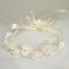 Kid - Flower Girl Floral Head Wreath