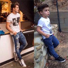 Adorable 4-Year-Old Boy Mimics Male Fashion Models