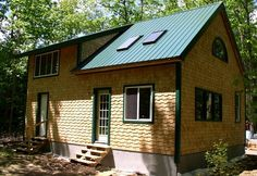 24 x 30 1 1/2 story cabin in Monroe Maine