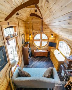 A Whimsical, Gothic Tiny House Tour.