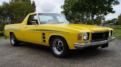 HJ Sandman Australian Ute, Holden Kingswood, Holden Australia, Aussie Muscle Cars, Custom Muscle Cars, Ford Gt, Dream Garage, Car Stuff, Back In The Day