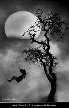 Girl on Swing: Metin Demiralay Photography