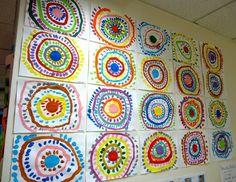 Kindergarten Art Lessons, Preschool Art Projects, Elements And Principles, Elements Of Art, Creative Activities, Art Activities, Kids Art Class, Art For Kids, Dot Day