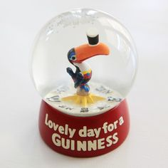 snow globes | Lovely Day for a Guinness Snow Globe