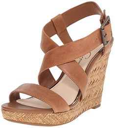 Jessica Simpson Womens Joilet Wedge Sandal Burnt Umber 95 M US -- You can get additional details at the image link.(This is an Amazon affiliate link and I receive a commission for the sales)