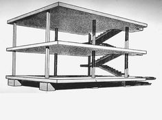 Dom-Ino House, Le Corbusier 1914-15