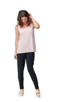 Sympli Womens Diva Leggings with Metal Buttons-Wine