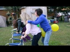 funny party games for adults burst balloon - Google Search