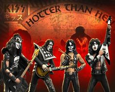 KISS Collectibles: 2017 KnuckleBonz Rock Iconz Hotter Than Hell Statues Kiss Album Covers, Kiss Action Figures, Eric Singer, Kiss Merchandise, Kiss Members, Kiss Rock Bands, Kiss Art, Kiss Pictures, Kiss Photo