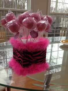 how to decorate styrofoam cake pop stand