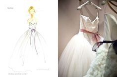 Kate Hudson's beautiful Vera Wang wedding gown from the movie Bride Wars.