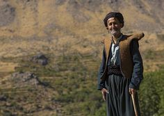 Kurdish Old Man With Traditional Clothing, Howraman, Iran | Flickr - Photo Sharing!