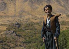 Kurdish Old Man With Traditional Clothing, Howraman, Iran | Flickr - Photo Sharing!