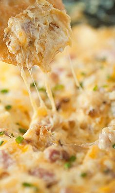 Hot Ham and Cheese Dip Recipe