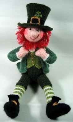 $$ Pattern: Leprechaun by Alan Dart. Perfect for your Irish pals.