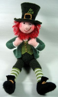 $$ Pattern: Leprechaun by Alan Dart. Perfect for your Irish pals.