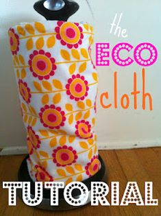 "How to make your own reusable paper towels....I am super excited about this, after seeing the price of these on Etsy!!  (check out my ""Wish list"" board to see the price!)"