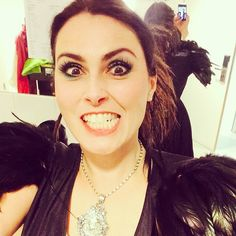 Proud that Sharon of Within Temptation is wearing our necklace on tour!