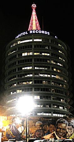 Hollywood Boulevard, Los Angeles:  Capitol Records