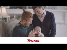 Tylenol's #HowWeFamily campaign. Gay dads via surrogacy in Tylenol commercial. Provides stance on a very polarizing topic (gay marriage) while also placing emphasis on interracial couples/families