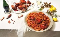 Lobster fra Diavolo / Photo by Marcus Nilsson  Lobster pasta #lobster