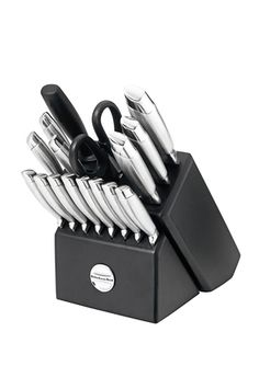 Kitchen Aid Knife set; Christmas gift from my darling husband. :)